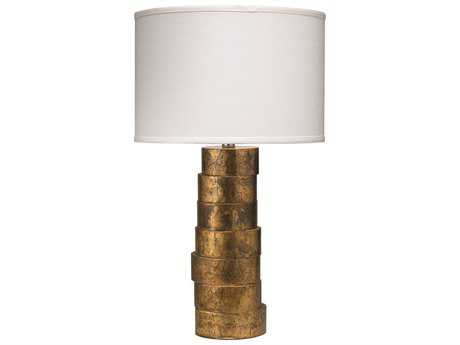 Jamie Young Company Stacked Gold Table Lamp
