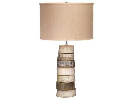 Jamie Young Company Stacked Horn Table Lamp