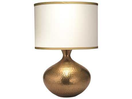 Jamie Young Company Taza Antique Brass Table Lamp