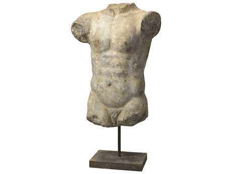 Jamie Young Company Apollo Gray & White Torso Bust