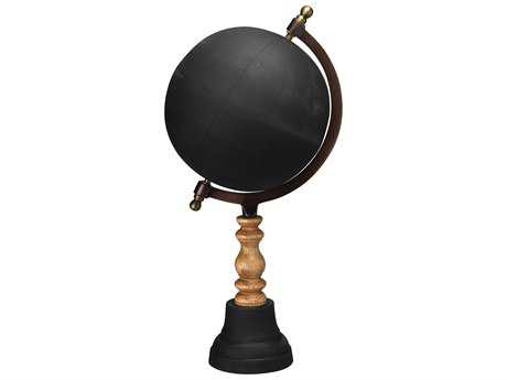 Jamie Young Company Chalk Board Small Black Globe