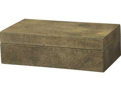 Jamie Young Company Maxwell Olive Shagreen Box