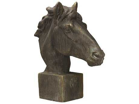 Jamie Young Company Mustang Antique Iron Horse Head