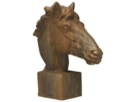 Jamie Young Company Mustang Antique Rust Horse Head