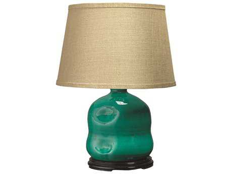 Jamie Young Company Dimple Turquoise Jug Table Lamp