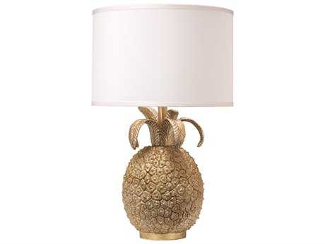 Jamie Young Company Pineapple Champagne Resin Buffet Lamp