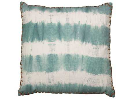 Jamie Young Company Tie Dye Sky Blue Pillow