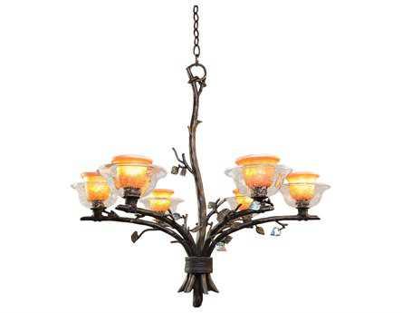 Kalco Lighting Cottonwood Six-Light 32'' Wide Chandelier