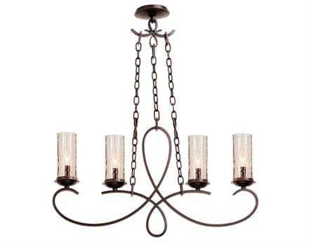 Kalco Lighting Grayson Heirloom Bronze Four-Light Island Light