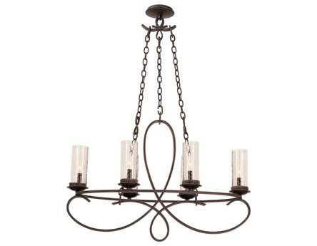 Kalco Lighting Grayson Six-Light 15'' Wide Chandelier