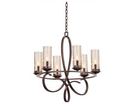 Kalco Lighting Grayson Six-Light 25'' Wide Chandelier