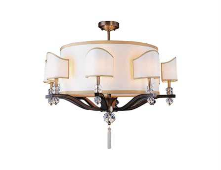 Kalco Lighting Sutton Antique Brass 16-Light 35'' Wide Chandelier