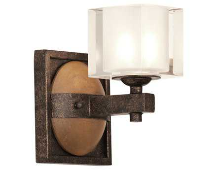 Kalco Lighting Hampton Florence Gold Vanity Light