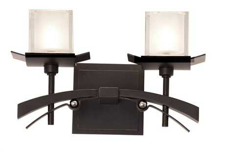 Kalco Lighting Nijo Tawny Port Two-Light Vanity Light