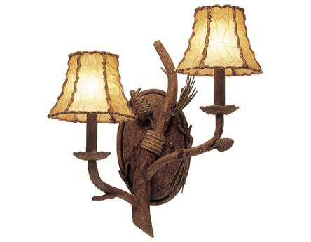 Kalco Lighting Ponderosa Two-Light Wall Sconce