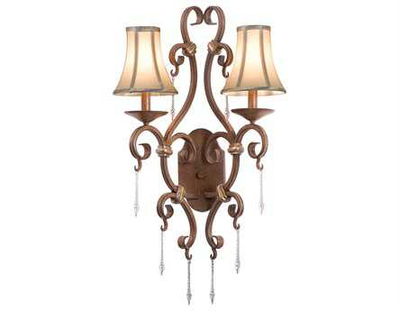 Kalco Lighting Palladium Two-Light Wall Sconce