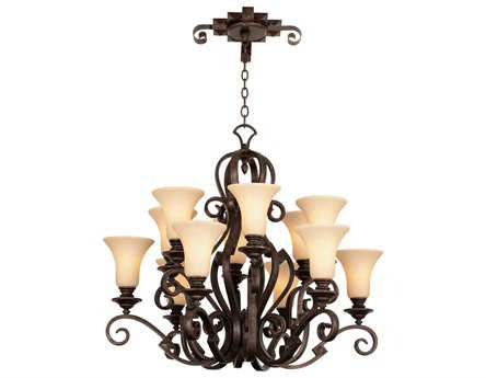Kalco Lighting Ibiza 12-Light 37'' Wide Grand Chandelier