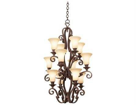 Kalco Lighting Ibiza 12-Light 29'' Wide Grand Chandelier