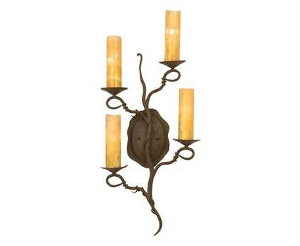 Kalco Lighting Vine Bark Four-Light ADA Wall Sconce