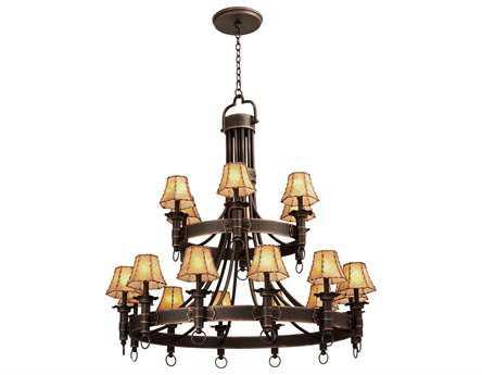 Kalco Lighting Americana 18-Light 47'' Wide Grand Chandelier