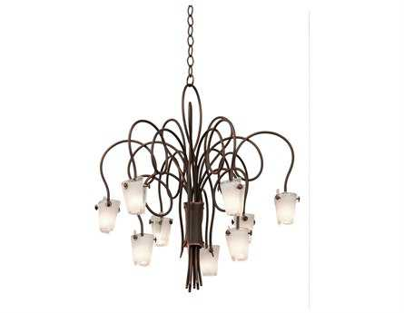 Kalco Lighting Tribecca Nine-Light 30'' Wide Chandelier