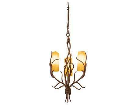 Kalco Lighting Napa Three-Light 15'' Wide Dinette Chandelier