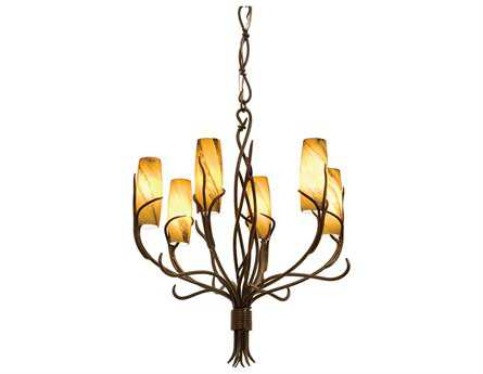 Kalco Lighting Napa Six-Light 28'' Wide Chandelier