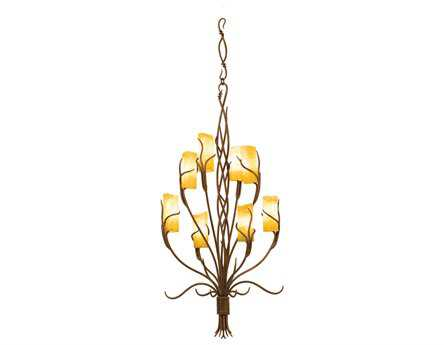 Kalco Lighting Napa Eight-Light 22'' Wide Grand Chandelier