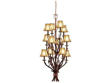 Kalco Lighting Ponderosa Ponderosa 12-Light 22'' Wide Chandelier
