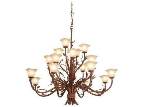 Kalco Lighting Ponderosa Ponderosa 20-Light 60'' Wide Grand Chandelier