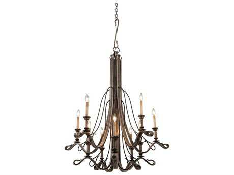 Kalco Lighting Keller Ten-Light 49'' Wide Grand Chandelier