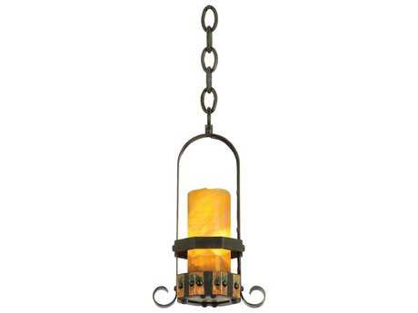 Kalco Lighting Cordova Natural Iron Mini-Pendant