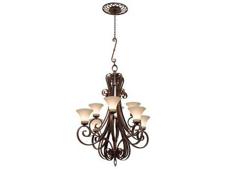 Kalco Lighting Mirabelle Eight-Light 41'' Wide Grand Chandelier