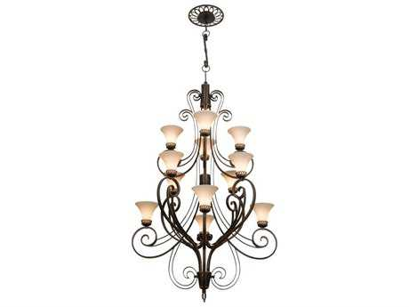 Kalco Lighting Mirabelle 12-Light 48'' Wide Grand Chandelier