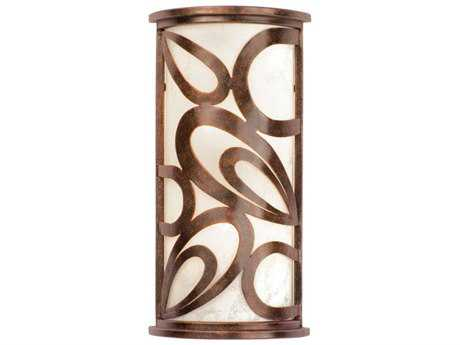 Kalco Lighting Asiana Copper Claret Three-Light ADA Wall Sconce