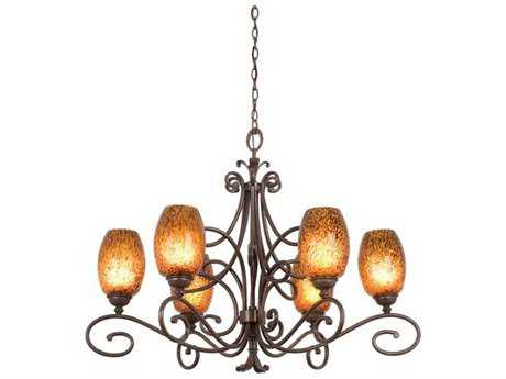 Kalco Lighting Amelie Six-Light 32'' Wide Chandelier