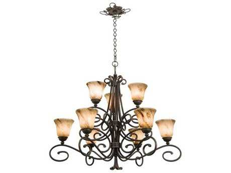 Kalco Lighting Amelie Nine-Light 38'' Wide Chandelier