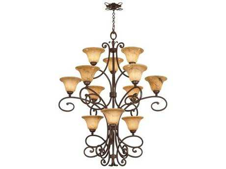 Kalco Lighting Amelie 12-Light 47'' Wide Grand Chandelier