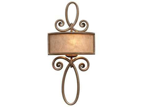 Kalco Lighting Whitfield 1 Light Ada Sconce W/O Scroll