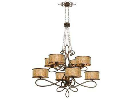 Kalco Lighting Whitfield 40-Light 10'' Wide Grand Chandelier