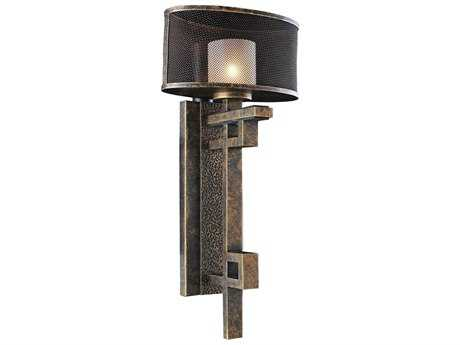 Kalco Lighting Stanley Volcano Bronze Wall Sconce