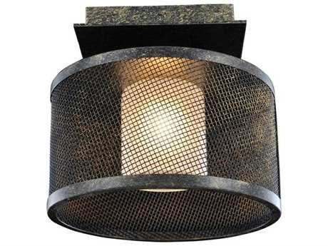 Kalco Lighting Stanley Volcano Bronze Semi-Flush Mount Light
