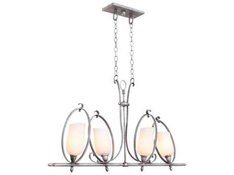 Kalco Lighting Mateo Four-Light 42'' Wide Island Light