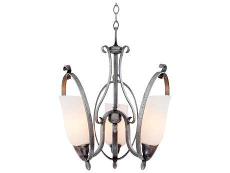 Kalco Lighting Mateo Three-Light 18'' Wide Mini Chandelier