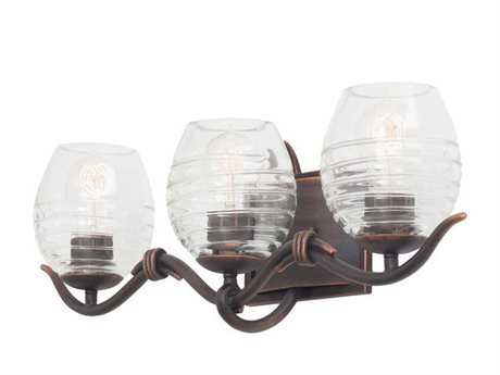 Kalco Lighting Seabrook Three-Light Vanity Light