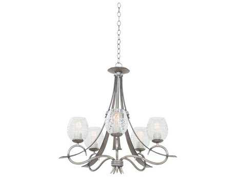 Kalco Lighting Seabrook Five-Light 27'' Wide Chandelier