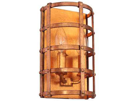 Kalco Lighting Townsend New Copper Two-Light 6'' Wide Wall Sconce