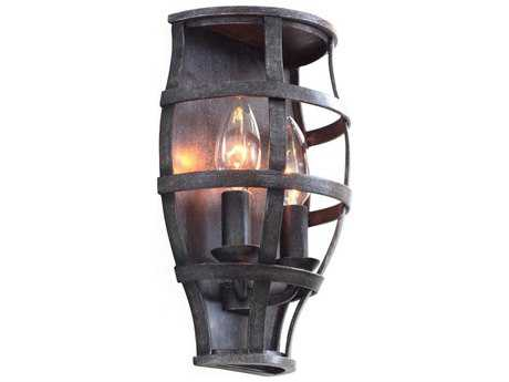 Kalco Lighting Townsend Vintage Iron Two-Light ADA Wall Sconce