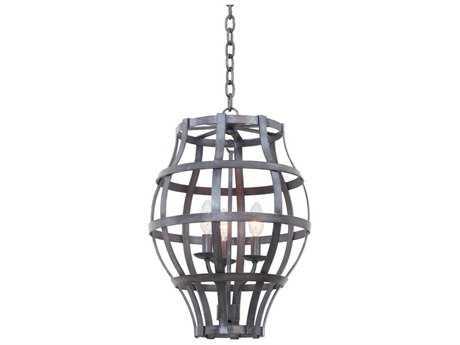Kalco Lighting Townsend Vintage Iron Three-Light Lantern