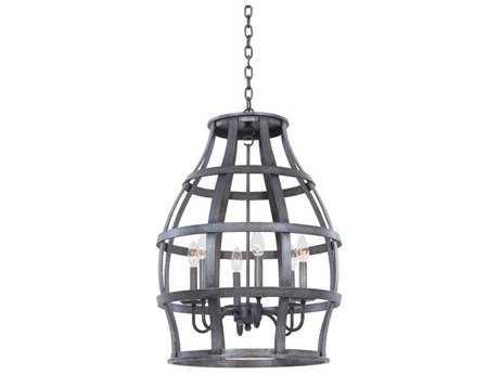 Kalco Lighting Townsend Vintage Iron Six-Light Lantern